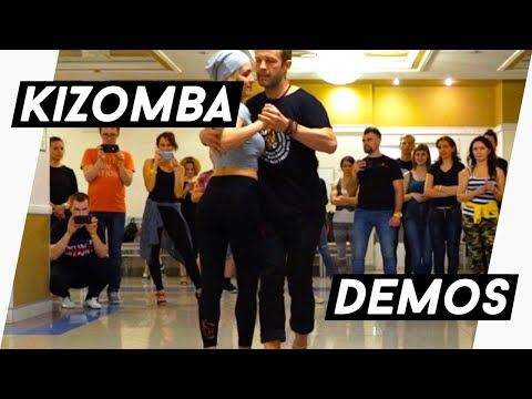 After Class Demo 2 - Kizomba Fusion - Kristofer & Rita - Mama Africa - St Petersburg, Russia