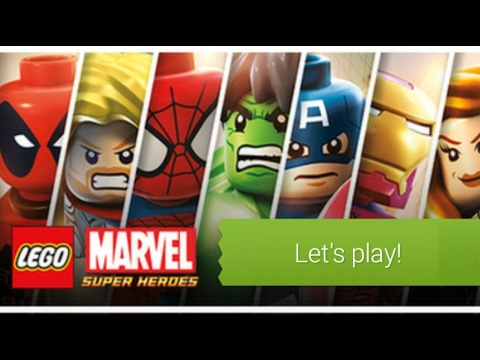 Lets play: Lego Marvel Super heroes. On PlayStation 4 pro (part 1)