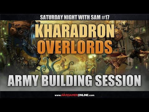 Kharadron Overlords Army Building Session- SNWS#17