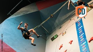 Can A Speed Climber Win The Olympics? | Climbing Daily Ep.1028