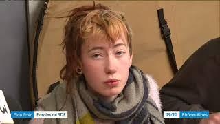 SDF : à Lyon, ils dorment dehors malgré le froid