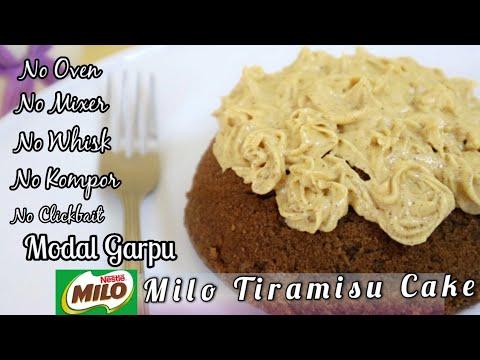 cuma-modal-garpu-jadi-milo-tiramisu-cake.-takaran-sendok,-no-mixer,-no-oven,-no-whisk,-no-kompor.
