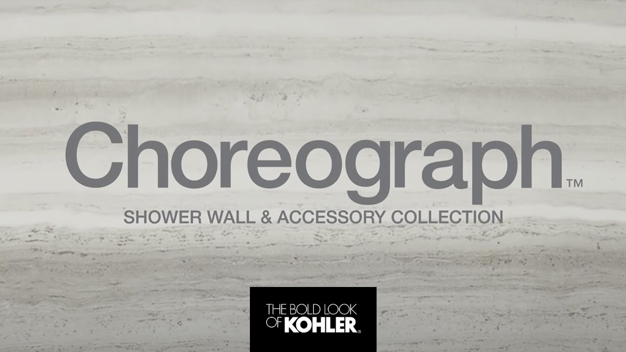 Choreograph Shower Wall And Accessory Collection Youtube