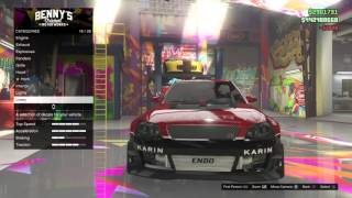 How to make the Evo 9 from Tokyo Drift in GTA Online