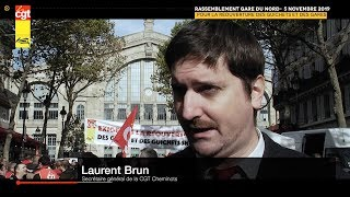 Quel avenir pour les gares SNCF. Interview Laurent Brun