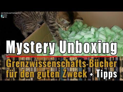 Mystery Unboxing: Bücher zu Grenzwissenschaft, UFO, Aliens, Phänomene für den guten Zweck + Tipps