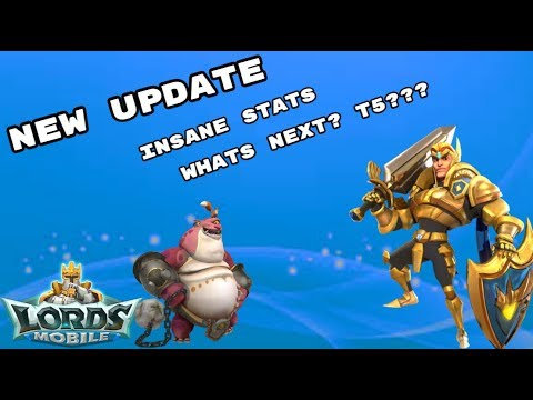 Lords Mobile - New Update, Whats Next T5???