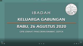 Agustus 26, 2020 - IKG - Melindungi Yang Lemah