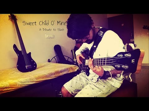 Sweet Child O' Mine | Guns N' Roses | Tribute Bass Cover to Slash | Vikalp Chauhan