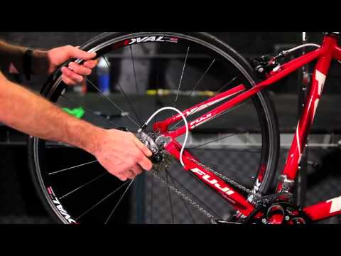 How to Remove and Install Quick Release Road Rear Wheels by Performance Bicycle