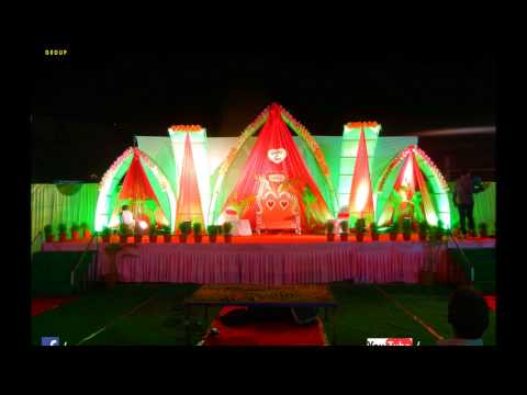 Lighting Decorations At Wedding Ceremony In Indore (M.P)