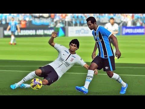 Corinthians X Grêmio: Pro Evolution Soccer 2018 (PES 2018)