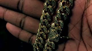 Shopgld 10MM Diamond Cuban Link Chain unboxing
