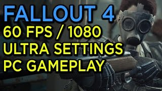 Slaughtering Raiders in Fallout 4 - 1080p/60fps Ultra Settings PC Gameplay