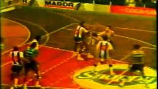 Basquetebol, Porto - 79 Sporting - 59 de 1987/1988
