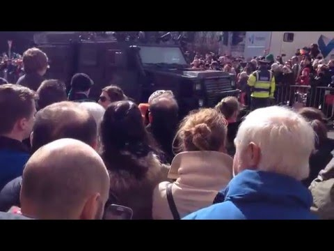 EasterRising MainParade Dublin 2015 - Parnell Square
