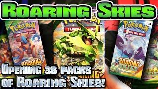 Pokémon XY: Roaring Skies TCG Booster Box Opening!