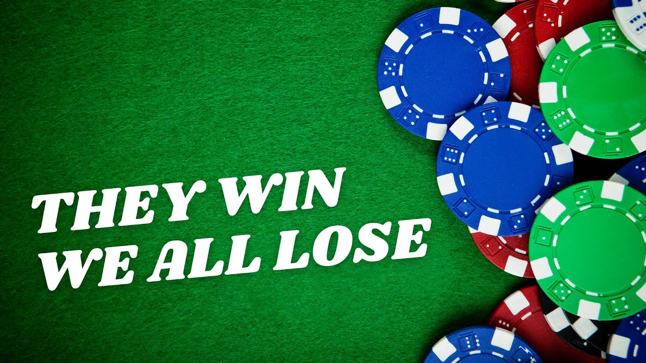 Why the Gambling Industry MUST Be Stopped