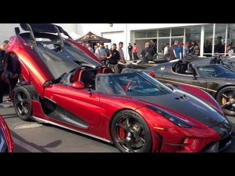 5 Amazing Koenigseggs Lamborghini Newport Beach Supercar Show