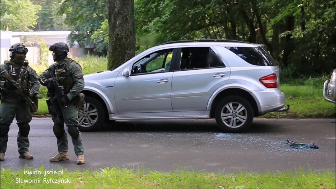 Wielka akcja szczecińskiej policji w Świnoujściu! Antyterroryści użyli broni hukowej!