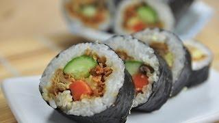 海苔捲壽司。Sushi