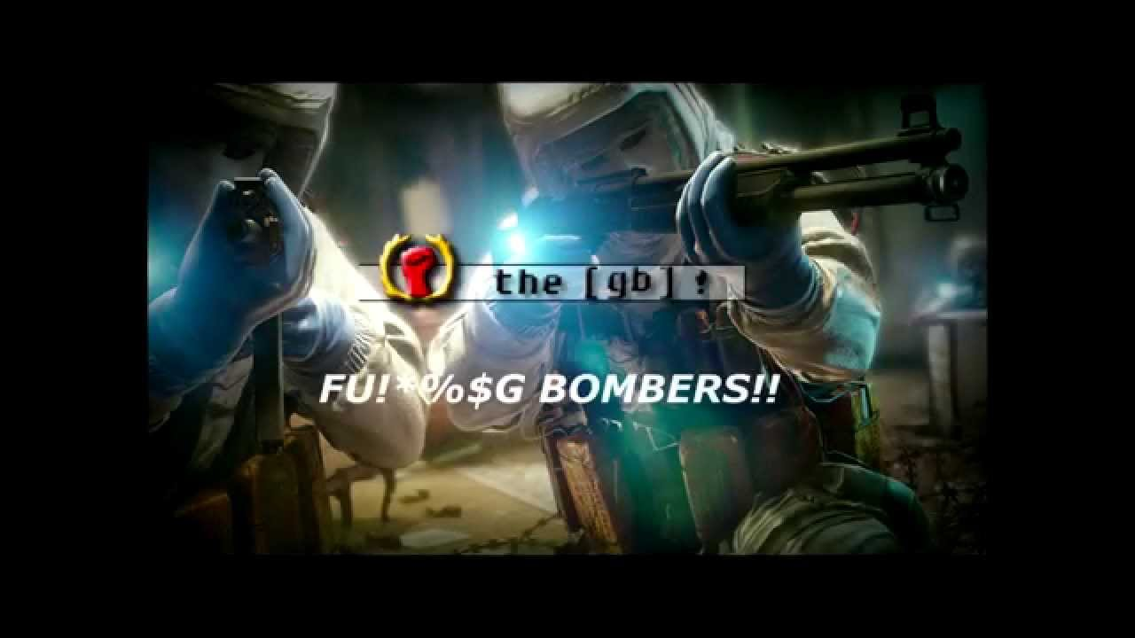 Rainbow six siege beta fu g bombers youtube - Rainbow six siege disable bomber ...