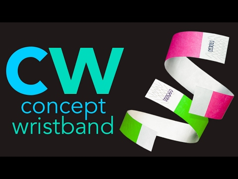 Tyvek Wristbands from Concept Wristband