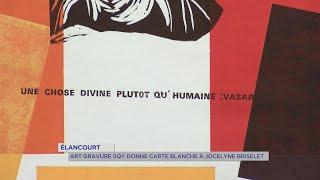 Yvelines | Elancourt : Art Gravure SQY donne carte blanche à Jocelyne Briselet
