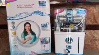 Kent Grand+ | Unboxing | 8-Litre Mineral RO + UV/UF with TDS Controller Water Purifier