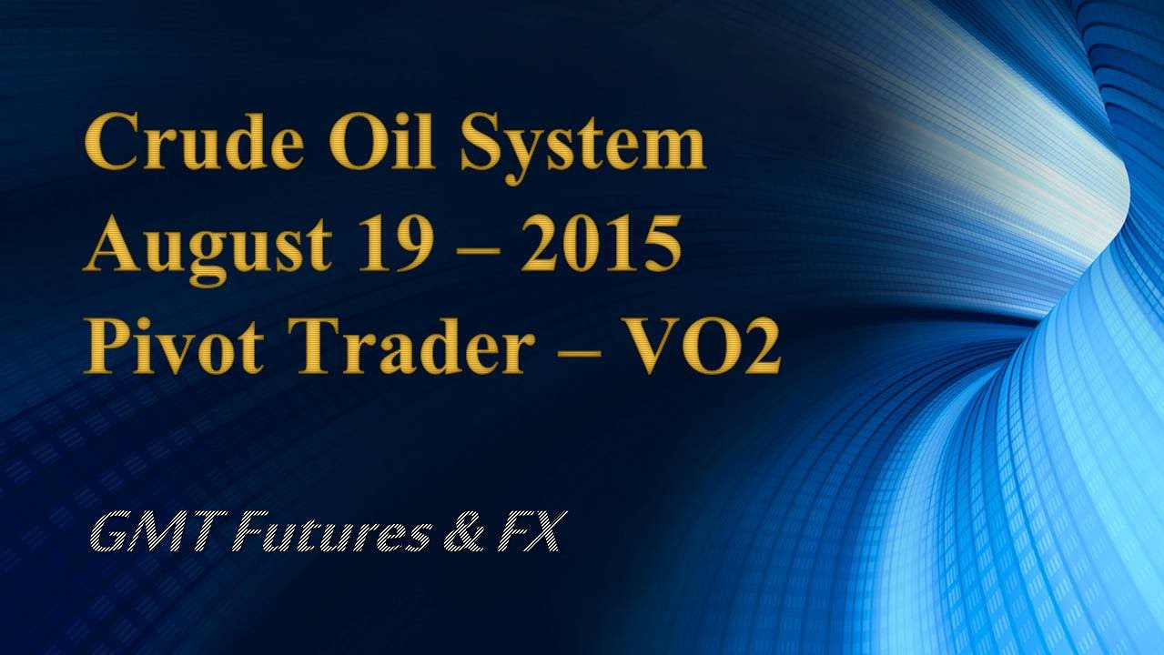 Trading system oil futures