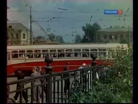 Москва послевоенная в цвете.