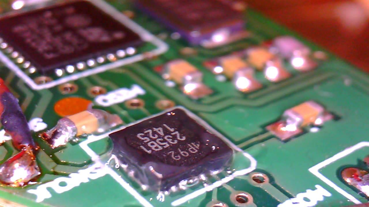 MPU9250/QFN package soldering