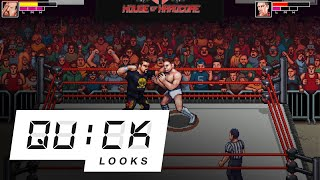 RetroMania Wrestling: Quick Look (Video Game Video Review)