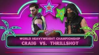 Now Wrestling 18 - PPVW World Title Last Man Standing Match - Craig v Thrillshot (c)