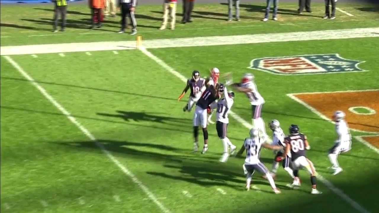 Bears Fall 1 Yard Short on Miracle Hail Mary Attempt | Patriots vs. Bears | NFL