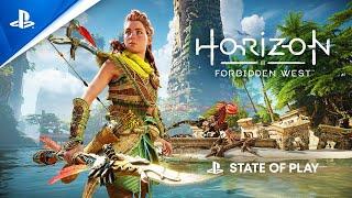 Horizon Forbidden West - Stąte of Play PS5 con subtítulos en ESPAÑOL | PlayStation España