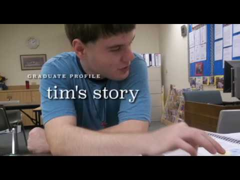 Tim's Graduate Story - Achievers Center for Education