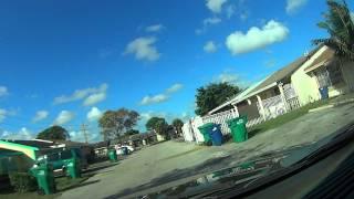 Vida em Miami- EUA CASAS de POBRES em Miami florida Estados Unidos da America