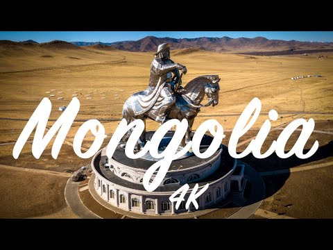 Amazing Mongolia | 4K | Drone footage