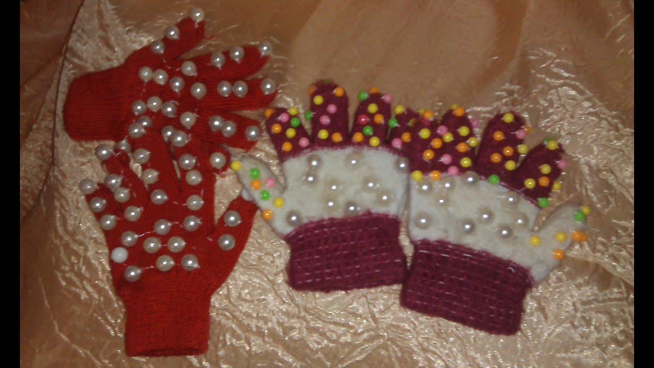 Массажные перчатки своими руками для детского сада
