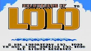 Adventures of Lolo (NES) Part 1 - Mike Matei Live