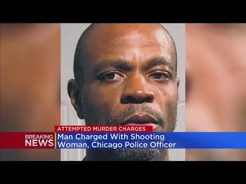 Man Charged With Shooting Police Officer, Woman