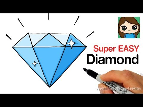 how-to-draw-a-diamond-super-easy