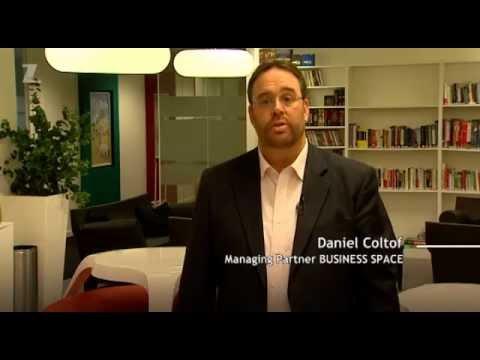 Reportage de CANAL Z sur Business Space et sur le marché immobilier de bureau .CZ