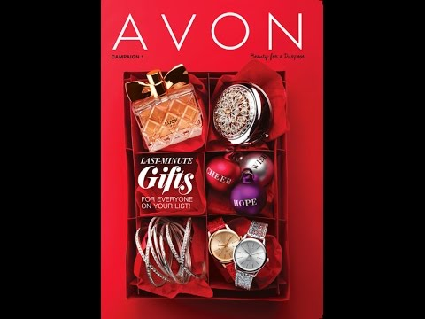Avon's Last Minute Christmas Gifts in Catalog 1 2017 ...