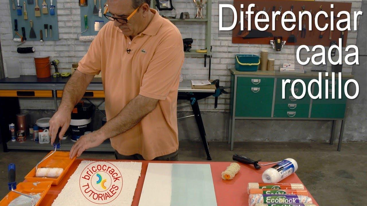 ¿Sabes para qué sirve cada rodillo de pintura? (Bricocrack)