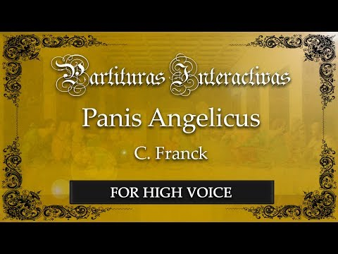 Panis Angelicus - C. Franck (Karaoke - Original Key: A major)
