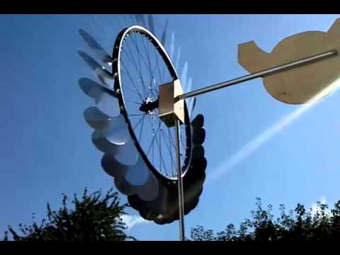 diy windspiel mit fahrradfelge youtube. Black Bedroom Furniture Sets. Home Design Ideas
