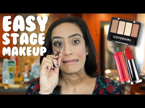 Dance Recital And Competition Makeup I EASY Tutorial With @MissAuti