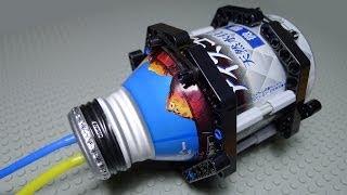 LEGO Pneumatic Air Tank DIY by Aluminium Bottle